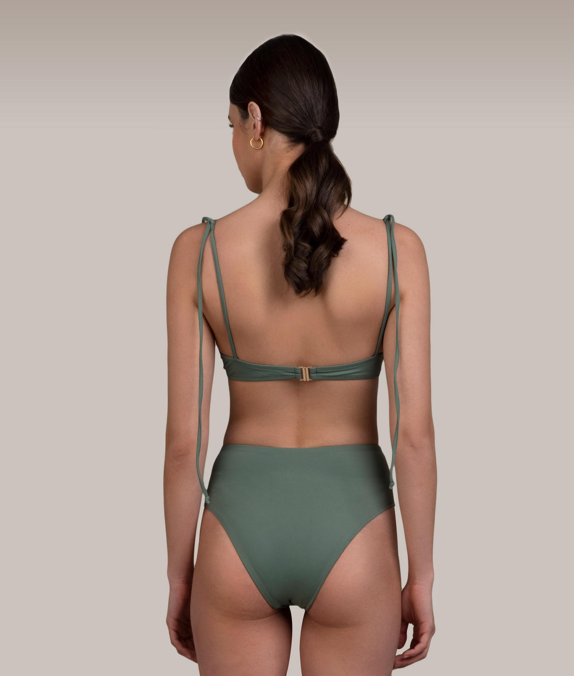Ava Khaki Bikini